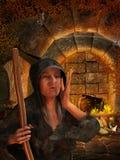 старая ведьма бесплатная иллюстрация