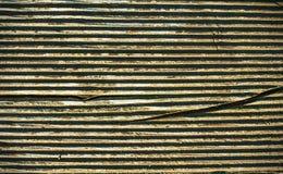Старая взборозженная древообразная предпосылка Стоковые Фотографии RF