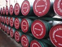 Старая винокурня Bushmills стоковое изображение rf