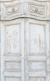 Старая винтажная дверь Стоковые Фото