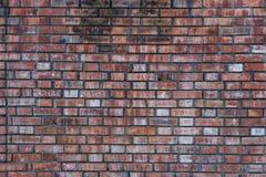 Старая винтажная кирпичная стена Стоковое фото RF
