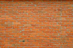 Старая винтажная кирпичная стена Стоковое Фото