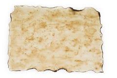 Старая, винтажная пакостная бумага с запятнанной текстурой для предпосылок Стоковое фото RF