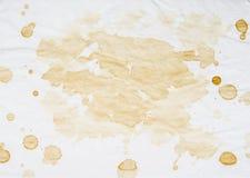 Старая, винтажная пакостная бумага с запятнанной текстурой для предпосылок Стоковые Изображения
