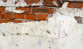 Старая винтажная предпосылка кирпичной стены, текстура Стоковое Фото