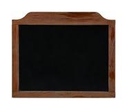 Старая винтажная черная доска изолированная на белизне Стоковые Фото