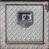 Старая внешняя стальная общего назначения предусматрива с плакировкой диаманта Стоковые Фотографии RF