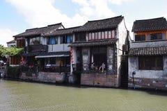 Старая вода - вниз в восточном Китае - стоковое фото