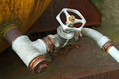 старая вода трубопровода Стоковое Изображение