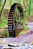 Старая водяная мельница в природе Стоковое Фото