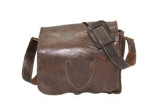 Старая воинская сумка Стоковое Фото
