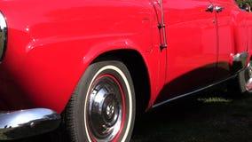 Старая восстановленная история автомобилей сток-видео