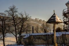 Старая восстановленная церковь Стоковое Изображение