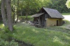 старая вода мельницы Стоковые Изображения