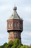 Старая водонапорная башня в Vlissingen или топить стоковые фото