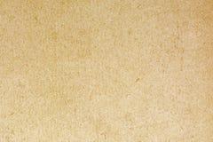 Старая волосистая предпосылка текстуры картона, конец вверх Стоковые Фотографии RF