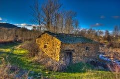 Старая водяная мельница Стоковые Изображения