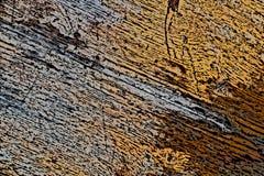 Старая выдержанная деревянная текстура с поврежденным слоем абстрактная предпосылка стоковое изображение rf