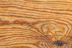 Старая выдержанная завязанная залакированная деталь текстуры Grunge планки сосновой древесины Стоковые Изображения
