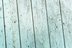 Старая выдержанная огорченная деревянная планка дуба с винтажным взглядом Стоковое Изображение