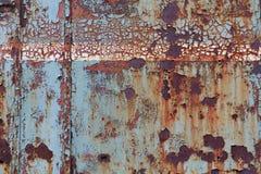 Старая вытравленная стальная поверхность Стоковая Фотография RF