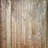 Старая выдержанная деревянная стена, квадратная текстура Стоковые Изображения