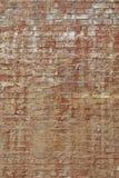 Старая выдержанная коричневая текстура предпосылки кирпичной стены Стоковые Изображения RF