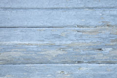 Старая выдержанная покрашенная текстура деревянных доск Стоковое Фото