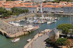 старая гавань La Rochelle в Франции стоковые фото