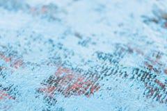 Старая голубая деревянная предпосылка старая текстура Стоковая Фотография RF