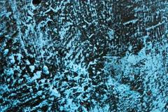 Старая голубая деревянная предпосылка старая текстура Стоковое Фото