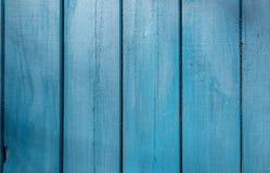 Старая голубая деревянная текстура с естественными картинами Стоковая Фотография RF