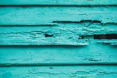 Старая голубая деревянная текстура с естественными картинами Стоковое Фото
