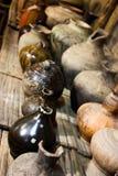 старая гончарня Стоковые Фотографии RF