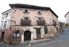 Старая гостиница в Сеговии, Испании Стоковые Изображения