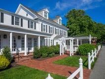 Старая гостиница Новой Англии Стоковые Фото