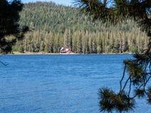 Старая гостиница озера Webber Стоковые Изображения RF