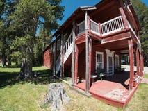 Старая гостиница озера Webber Стоковые Фотографии RF