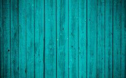 Старая голубая деревянная доска Красивейшая предпосылка Стоковая Фотография