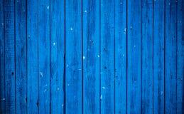 Старая голубая деревянная доска Красивейшая предпосылка Стоковые Фото