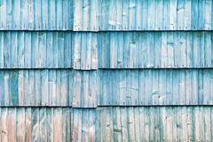 Старая голубая деревянная текстура с естественными картинами Стоковые Фотографии RF
