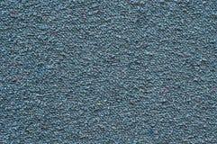 Старая голубая предпосылка ткани хлопка Стоковое Изображение RF