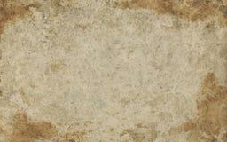 Старая грубая бумажная текстура Стоковое Изображение RF