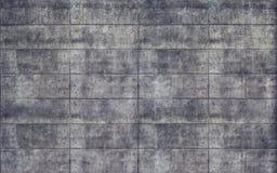 Старая грубая текстура стены конкретных плиток Стоковая Фотография
