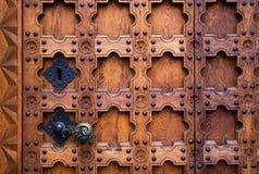 старая двери готская Стоковое Изображение RF