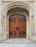 старая двери передняя Стоковые Изображения RF