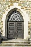 Старая дверь молельни Стоковое Изображение