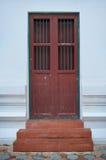 Старая дверь церков Стоковая Фотография