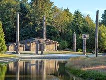 Старая деревня первой нации Стоковая Фотография