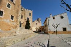 Старая деревня Altafulla стоковые изображения rf